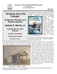 FPEHS, May 2013 Newsletter by Farmville-Prince Edward Historical Society