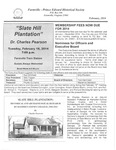FPEHS, February 2014 Newsletter by Farmville-Prince Edward Historical Society