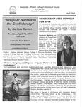 FPEHS, April 2014 Newsletter by Farmville-Prince Edward Historical Society