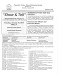 FPEHS, January 2014 Newsletter by Farmville-Prince Edward Historical Society