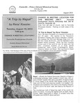 FPEHS, August 2014 Newsletter by Farmville-Prince Edward Historical Society