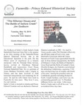 FPEHS, May 2015 Newsletter by Farmville-Prince Edward Historical Society