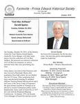 FPEHS, October 2015 Newsletter