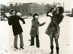 Snowball Fight by Longwood University