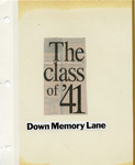 Class of 1941 Scrapbook by Longwood University
