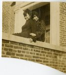 LU-182.003, two unidentified women seated on balcony