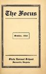 The Focus, Volume Vl Number 5, October 1916 by Longwood University