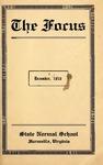 The Focus, Volume Vl Number 7, December 1916 by Longwood University