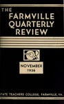 The Farmville Quarterly Review, Volume l Number 2, November 1936