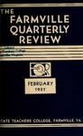 The Farmville Quarterly Review, Volume l Number 3, February 1936