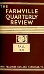 The Farmville Quarterly Review, Volume ll Number 1, Fall 1937