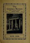 The Literary Review, Volume l, Number 1, June 1928