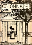 The Colonnade, Volume Xlll Number 2, March 1951