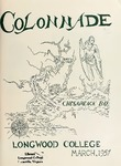 The Colonnade, Volume XX Number 2, March 1957 by Longwood University