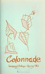 The Colonnade, Volume XXlV Number 3, Spring 1962 by Longwood University