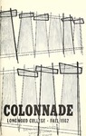 The Colonnade, Volume XXV Number 1, Fall 1962