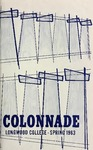 The Colonnade, Volume XXV Number 3, Spring 1963 by Longwood University